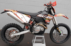 KTM 450 XC-W Six Days Blue Plated