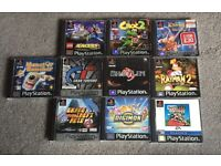 Mixed ps1 games. Some rare.