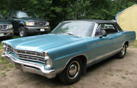 1967 Ford Galaxie 500 Classic 4 Door Hard Top