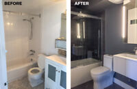 Complete bathroom renovations - From design to done!