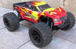 New RC Truck Wolverine Brushless Next -Gen Platform RTR LIPO 4WD