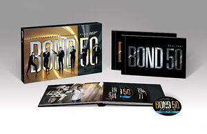 James Bond: Bond 50 Blu-ray The Complete 22 Film Collection