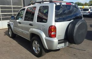 2003 Jeep Liberty Limited SUV, Crossover 2 YRS WAR LOW KM Cambridge Kitchener Area image 7
