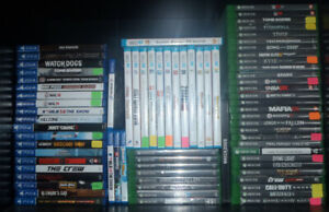 XBOX ONE / WII U / PS4/VITA ...63 GAMES....VITA SYSTEM !!