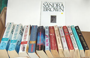 Large Lot of  Sandra Brown   Books Belleville Belleville Area image 1