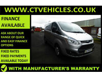 2015 65 Ford Transit Custom 2.2TDCi 125PS 290 L1H1 Trend Silver, cruise control