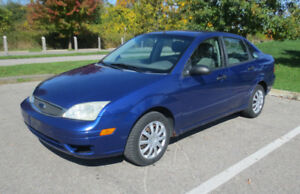 2005 Ford Focus SE ZX4 For Parts or Repair
