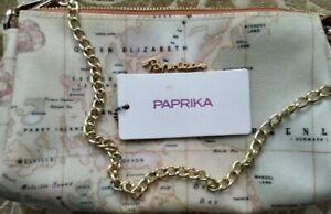 Paprika New World Map Purse and coin purse