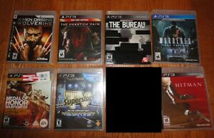 NEW Ps3 games jeux NEUF