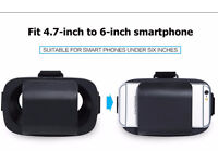 VR Virtual Reality 3D Glasses Movie Games For iPhone Samsung Galaxy 4.7 inch ~ 6.0 inch Smartphone