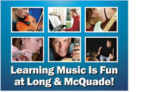 Music Lessons All Instruments All Ages at Long & McQuade