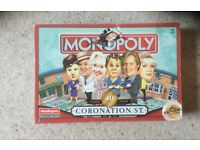 Monopoly- Coronation Street 40th year