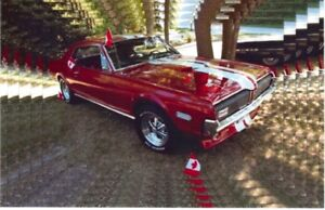 1968 Cougar Muscle Car