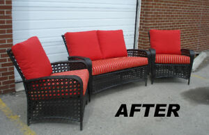 Sunbrella Replacement Cushions for your Outdoor Patio Furniture