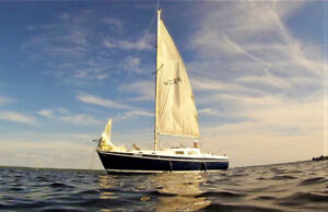 Voilier 27' + remorque (with trailer)