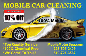 A Car Cleaning That Comes To You!