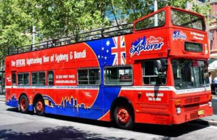 Sydney sightseeing bus
