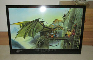 Dragonspell Art Picture 2' x 3'