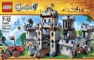 LEGO King's Castle 70404 - RETIRED and UNOPENED