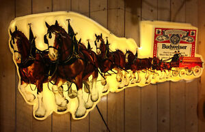 Collectors Budweiser sign