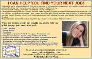 resume writing toronto