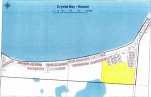 22 Acres to Develop @ Crystal Bay Brightsand lake!