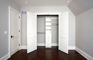 WOOD CLOSET ORGANIZERS STARTING AT $1500.00 FOR THE ENTIRE HOME