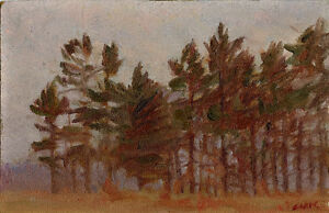 """Canadian School"" Pre 1916 Caleb Keene? London Ontario image 1"