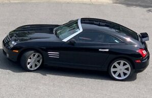For Sale – Mint 2004 Sexy Chrysler Crossfire – Black $11,500