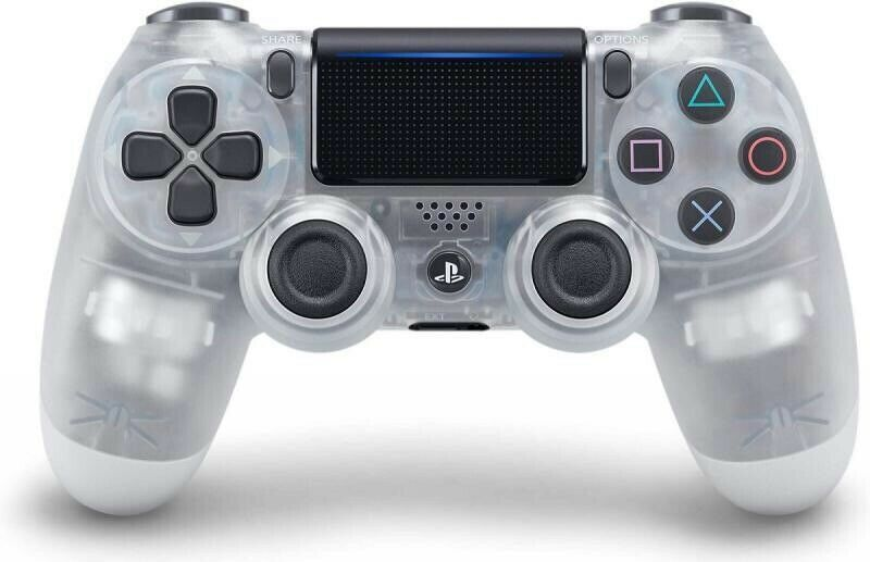 Sony Dualshock 4 Wireless Controller for PS4 - Crystal