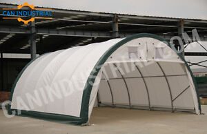 20x30x12 - Portable Fabric Building / Storage Tent Temp Shelters