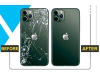 iPhone back glass repair replacement service using laser method fix iPhone iPad Macbook repair
