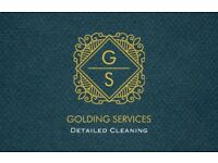 Golding Services - Valeting and detailing