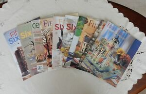 Department 56 'Fifty Six' magazines (10 various)