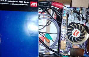 carte video ATI aiw X800