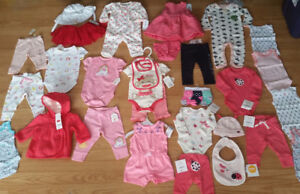 Brand New Baby Girl Clothes - 30 Items - $210 for all!