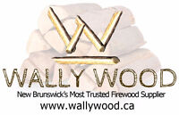 Firewood - Order online for immediate or in the spring delivery