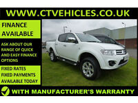 2014 64 Mitsubishi L200 2.5DI-D CR 4WD auto Barbarian TOP SPEC, FULL LEATHER,
