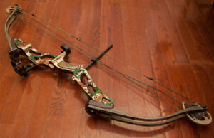 Hoyt 60-70 pounds right handed compound bow 310fps