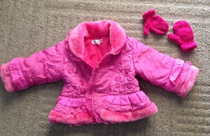 Snow pants and winter coat