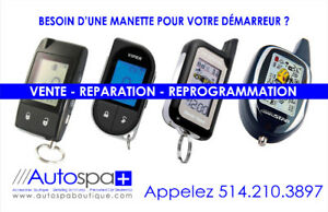 Installation Reprogrammation Diagnostique Démarreur à Distance