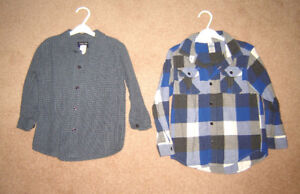Boys Clothes, Fall Jackets - sz 5, 6 /  Winter Boots sz 10