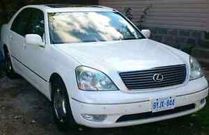 2001 Lexus LS430 Showroom Car Certified and E-tested