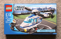 Lego City: Police Helicopter Set #7741 (2008) Retired