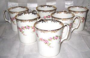 Tasse à café Royal Albert Dimity Rose (7 DISPONIBLES) (066)