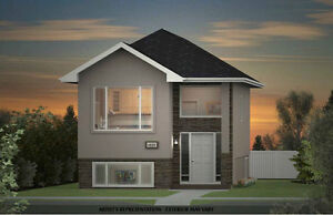 New construction bi-level w/ regulation basement suite $374,233