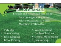 Gardener and Landscaper based in Liverpool and Kirkby for all year round work
