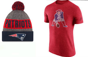 New England Patriots Hat and T-Shirt