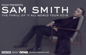 Sam Smith: The Thrill of It All Tour June 18th, 2018