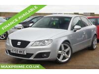 SEAT EXEO 2.0 LUX CR TDI 4D 170BHP FULL LEATHER + XENONS + JUST SERVICED